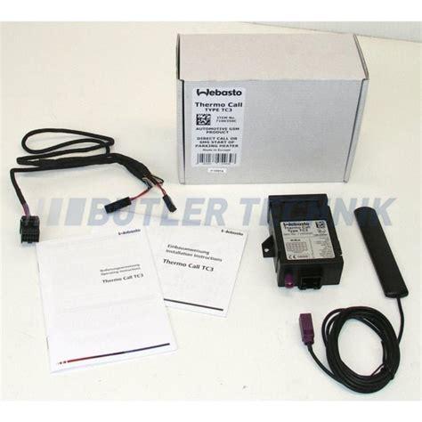 Webasto Thermo Call Tc3 Mobile Telephone Remote