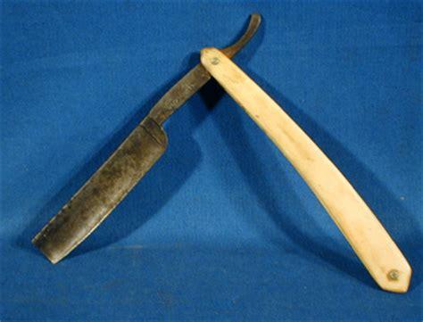 therionarms civil war bone handle straight razor