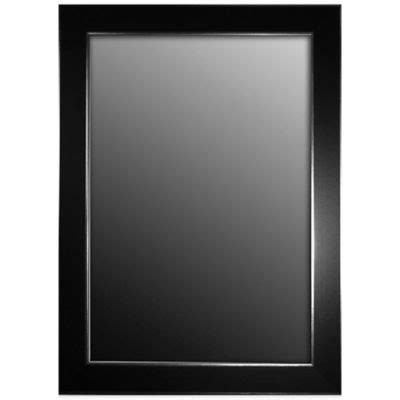 Bathroom Mirrors Black Frame by Buy Decorative Black Framed Mirrors From Bed Bath Beyond