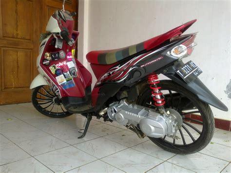 Modifikasi Mio J by Mio J Modifikasi Jari Jari Thecitycyclist