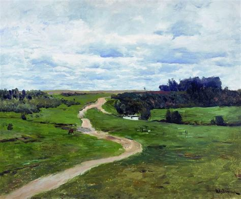 Road, 1898 - Isaac Levitan - WikiArt.org