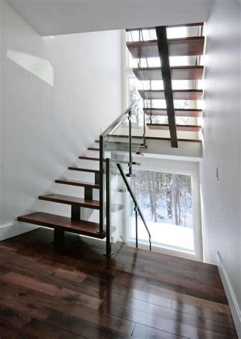backbone staircase central stringer stairs battig design