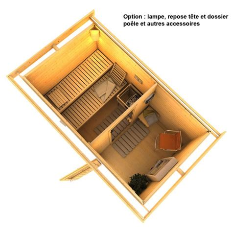 sauna exterieur avec sauna skrollan 1 karibu 337 x 196 cm sauna ext 233 rieur avec vestiaire
