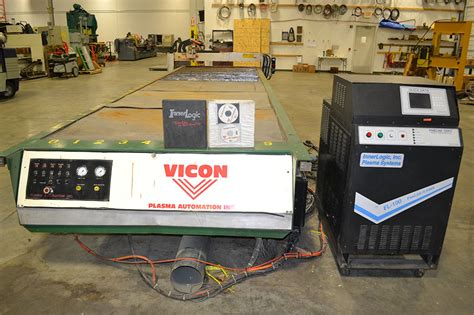vicon 5 x 20 table cnc plasma cutter w innerlogic fl 100 plasma the equipment hub