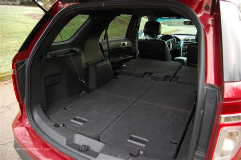 ford explorer trunk space    ford cars