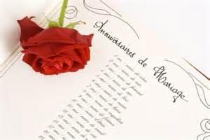 anniversaire de mariage noce l 39 origine des noces de mariage