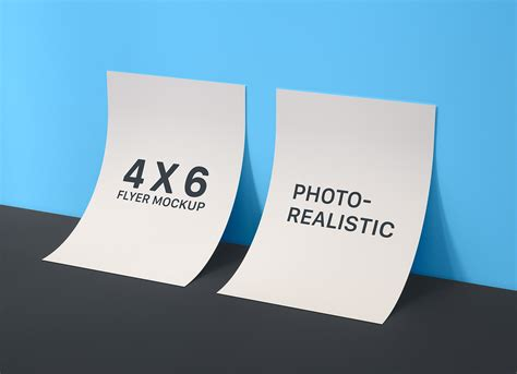 Free for commercial and personal use. Free Front & Back Flyer Mockup PSD - Good Mockups