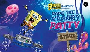 The Spongebob Movie Sponge Out Of Water Save The Krabby