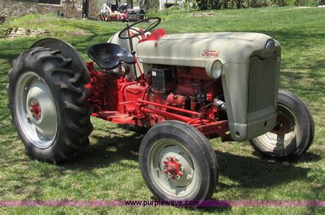 ford jubilee tractor item  sold   ag