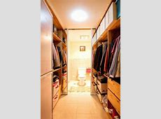 Master Bedroom With Walk In Closet And Bathroom Sliding