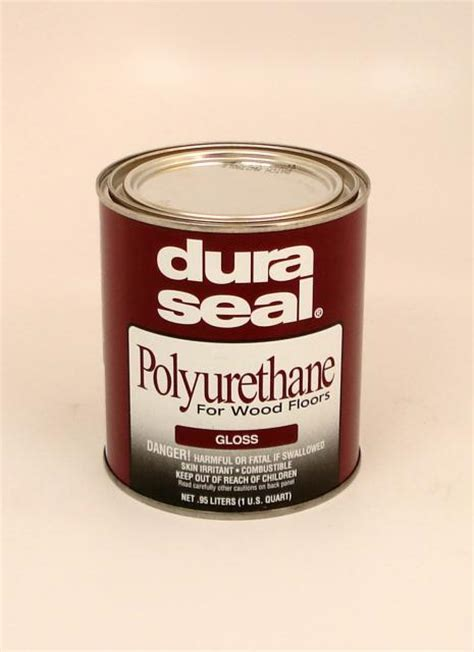 Dura Seal Gloss Oil Based Polyurethane for Hardwood Floors