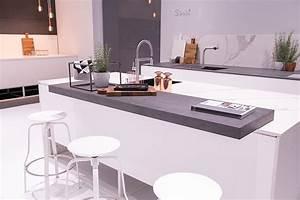 Weiße Arbeitsplatte Küche : k chentheke ideen kitchen wei e k che scandinavische k che arbeitsplatte theke k che ~ Sanjose-hotels-ca.com Haus und Dekorationen