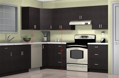 Standard Kitchen Cabinet Height Design  Loccie Better