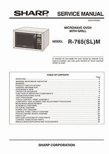 34 Microwave Oven Parts Diagram