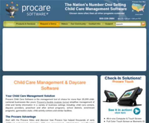 procaresoftwarecom child care management software