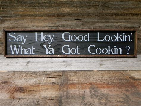 Kitchen Wood Signs Decor - kitchen wall decor handmade wood sign rustic country signs