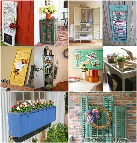 creative ideas for home interior 50 creative ideas to recycle old shutters for home decor amazing house design