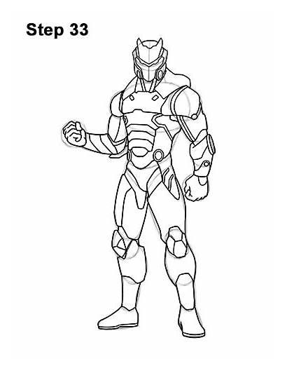 Fortnite Draw Omega Step Skin Sketch Pencil