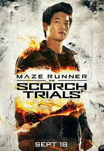 Maze Runner 2 Character Posters Feature Dylan O'Brien ...