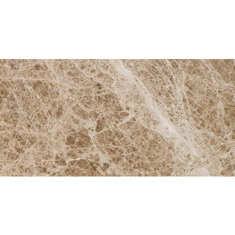 purchase emperador light honed 12x24 brown marble tile