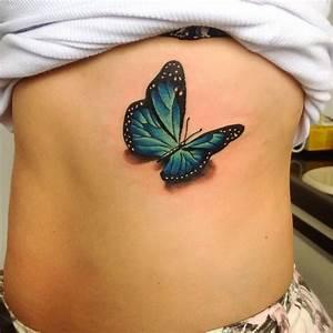 Kleiner Schmetterling Tattoo : butterfly tattoo borboleta 3d gugo guarulhos sp tatuagem tattoo ideas pinterest ~ Frokenaadalensverden.com Haus und Dekorationen