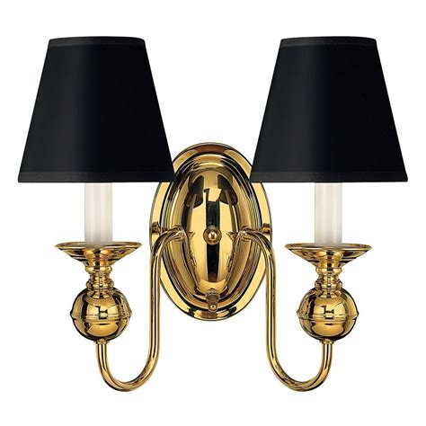 sconce wall light in polished brass finish 5124pb - Polished Brass Sconce