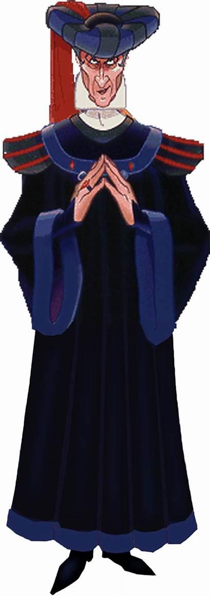Frollo Claude Judge Disney Villains Dame Notre