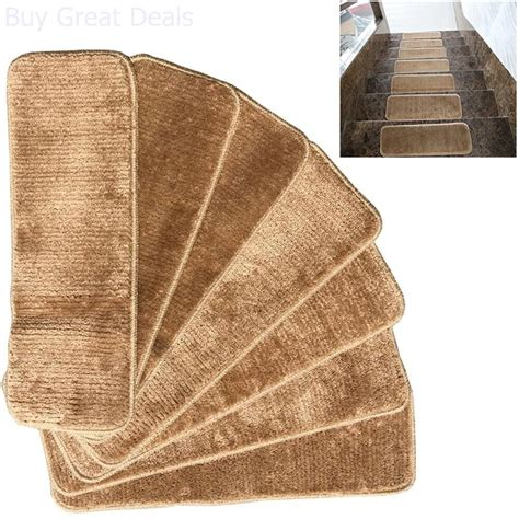 Non Skid Rugs Washable by Non Skid Carpet Stair Treads Rubber Backing Mats Rug Set 7