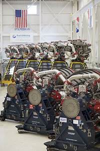 Shuttle Main Engines  15 Ssmes In One Place