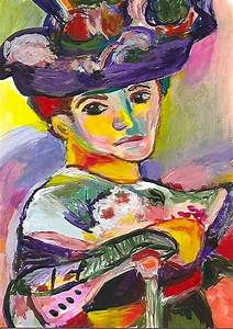 ACEO Woman with a Hat in the Style of Henri Matisse ...