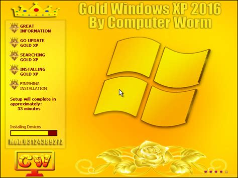 gold windows xp sp3 2016 drivers by computer worm all software
