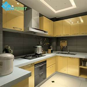 New red paint waterproof diy decorative film pvc for Kitchen colors with white cabinets with new driver sticker
