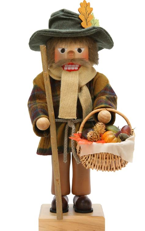 thanksgiving wooden nutcrackers christian ulbricht and