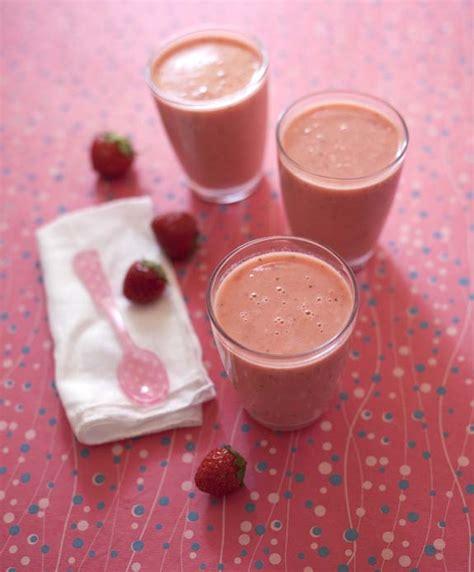 smoothie fraises p 234 che et lait d amande maison biod 233 lices