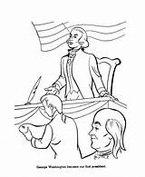Continental Congress Clipart Washington George Coloring Presidents Sketch Usa Template Printables 123clipartpng sketch template
