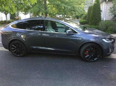 2016 Electric Cars For Sale by 2016 Tesla Model X P90d For Sale New York Electric Cars