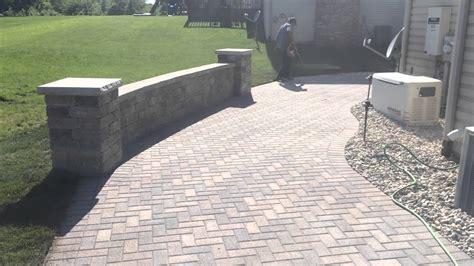 unilock hollandstone unilock patio installed in crown point