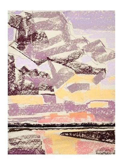 Pastel Demo Painting Sunset River Haywood Sullivan