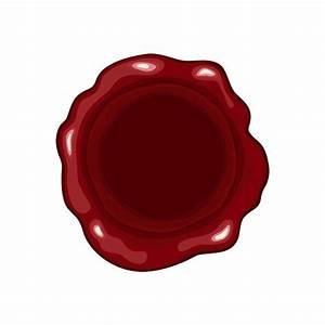 Sealing Wax Seal Christmas Background Red Decorative Christmas