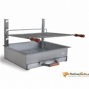 Barbecue A Poser : barbecue charbon de bois poser en inox b zieux achat ~ Melissatoandfro.com Idées de Décoration