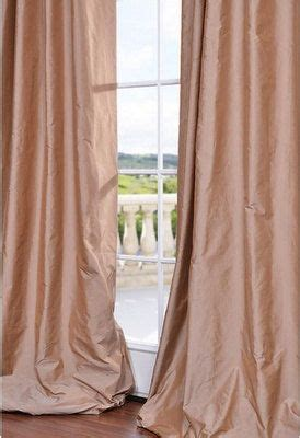 25 best ideas about silk curtains on pink