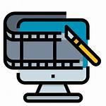 Film Editing Icon Cinematography Cinema Icons Editor