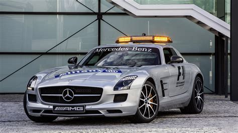 F1 Safety Car Gets Upgraded To Mercedes-Benz SLS AMG GT