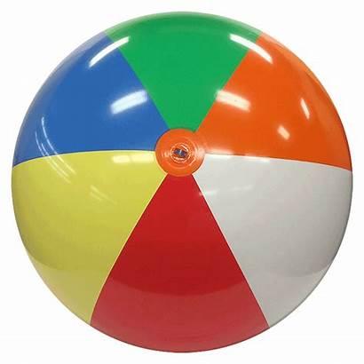 Ball Beach Deflated Balls Ft Multicolor Clipart