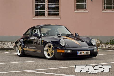 stanced porsche 911 widebody stanced porsche 964 fast car