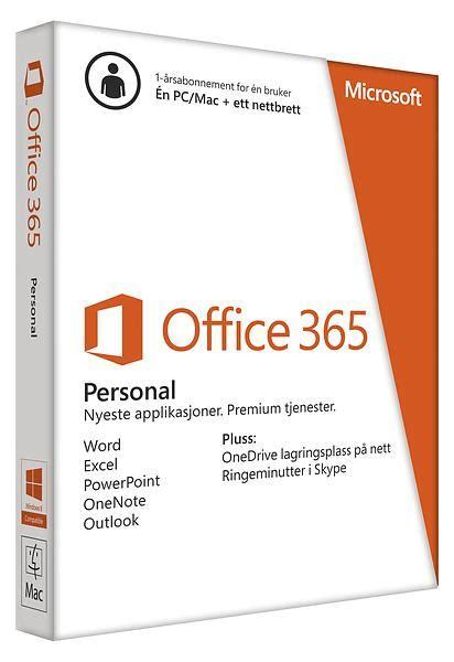 office 365 personal komplett no best pris p 229 microsoft office 365 personal nor Microsoft