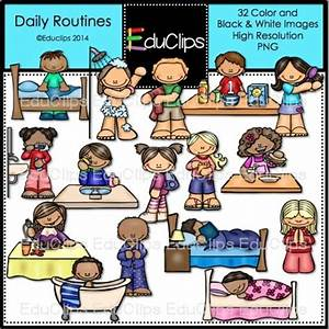 Daily Routine Clipart | www.imgkid.com - The Image Kid Has It!