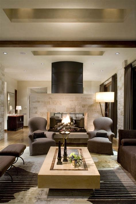 modern living room with fireplace 16 fabulous earth tones living room designs decoholic