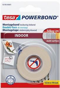 Tesa Bilder Aufhängen : tesa 55740 tesa powerbond indoor 1 50 m x 19 mm bei reichelt elektronik ~ Orissabook.com Haus und Dekorationen