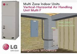 Lvn360hv 36000 Btu Lg Vertical Horizontal Air Handling